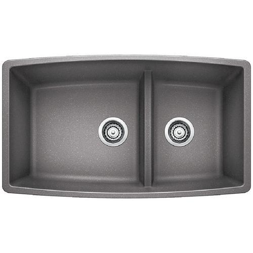 Performa 1-3/4 Medium Bowl - Metallic Gray