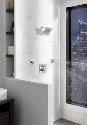 Chrome HydraChoice ® Body Spray - Spray Head Product Image
