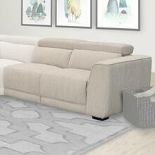 See Details - NOHO - BISQUE Power Right Arm Facing Loveseat