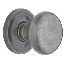 Distressed Antique Nickel 5015 Estate Knob