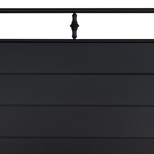 Gallery - Barton King Bed, Textured Black