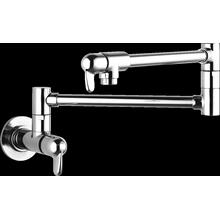 See Details - Chrome Pot Filler, Wall-Mounted