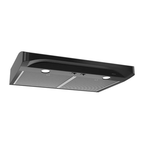 Alta 30-inch 250 CFM Black Range Hood with light