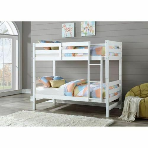 ACME Ronnie Bunk Bed (Twin/Twin) - 37785 - White