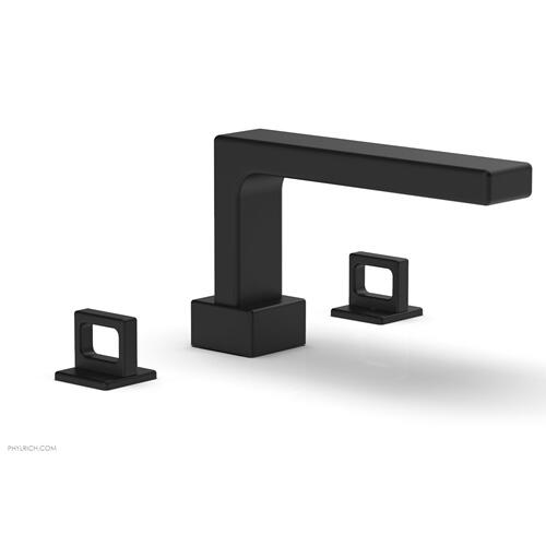 MIX Deck Tub Set - Ring Handles 290-42 - Matte Black