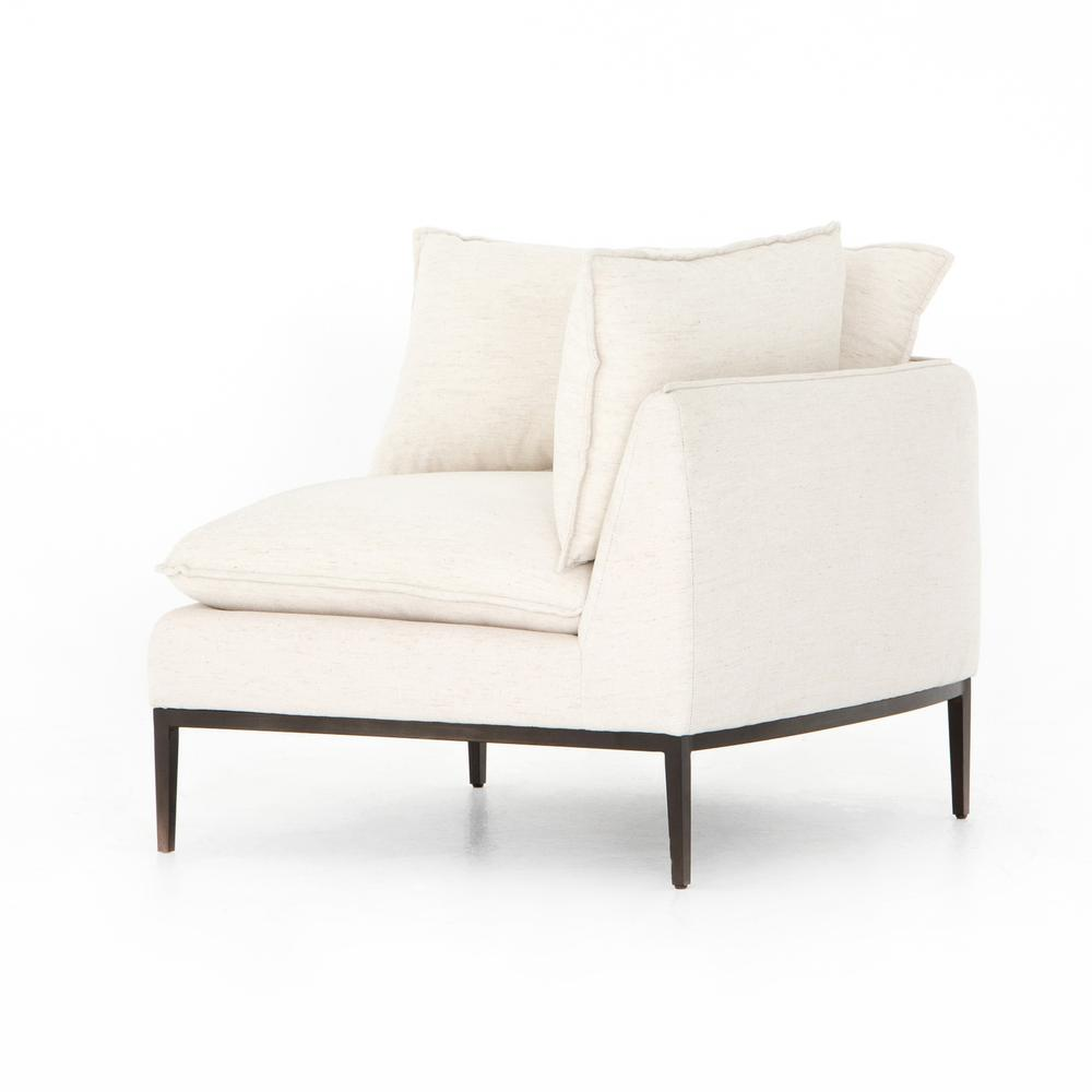 Corner Piece Configuration Abode Ivory Cover Donovan Sectional Pieces