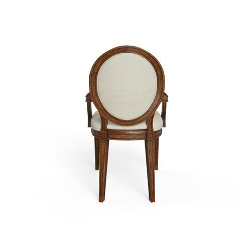 Hillside Oval Arm Chair - Chestnut