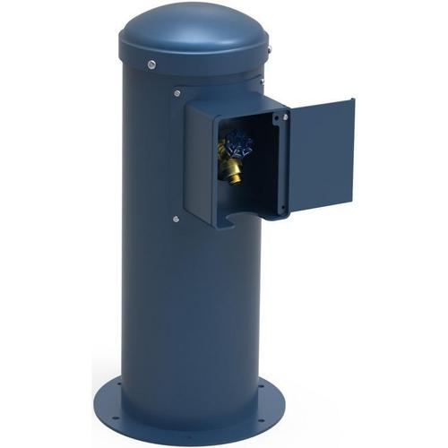Elkay - Elkay Yard Hydrant with Locking Hose Bib Non-Filtered, Non-Refrigerated Blue