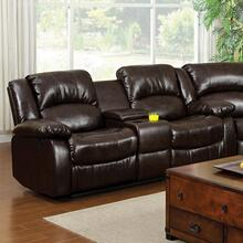 See Details - Winslow Love Seat W/ Center Console
