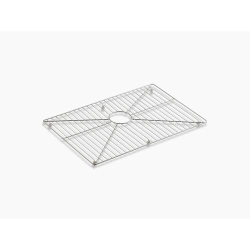 """Stainless Steel Stainless Steel Sink Rack, 26"""" X 16-11/16"""" for 30"""" Single-bowl Apron-front Sink"""