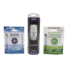 See Details - Everydrop® Refrigerator Water Filter 1 - EDR1RXD1 (Pack Of 1) + Refrigerator FreshFlow™ Air Filter + FreshFlow Produce Preserver Refill