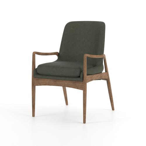 Eden Sage Cover Braden Dining Arm Chair