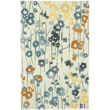 Stems Cream Grey Hand Tufted Rugs