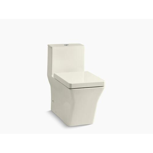 Kohler - Biscuit One-piece Compact Elongated Dual-flush Chair-height Toilet With Slow Close Seat