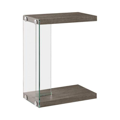 Product Image - Transitional Weathered Grey Accent Table
