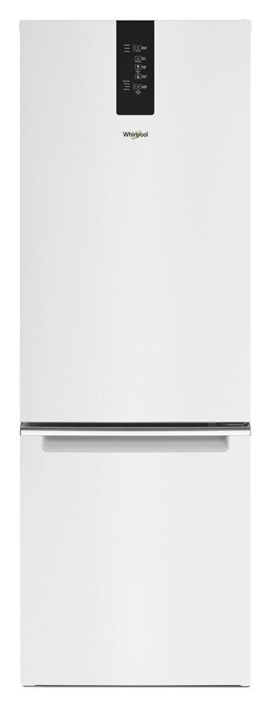 Whirlpool24-Inch Wide Bottom-Freezer Refrigerator - 12.7 Cu. Ft.