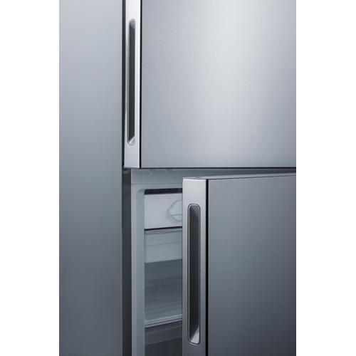 """Summit - 28"""" Wide Built-in Bottom Freezer Refrigerator"""
