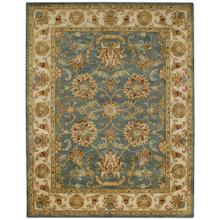 "Eloquent Garden Bombay Blue - Rectangle - 2'6"" x 3'6"""