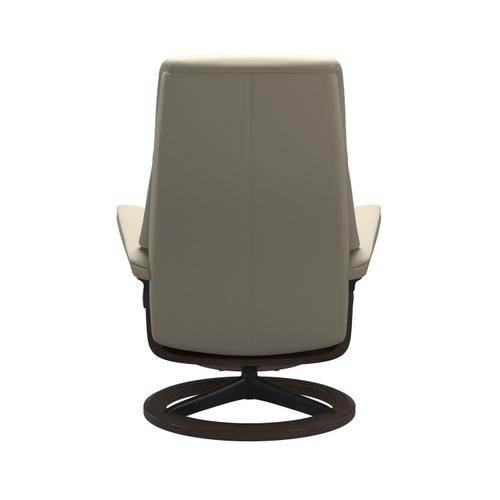 Stressless By Ekornes - Stressless® View (L) Signature chair with footstool