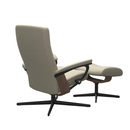Stressless By Ekornes - Stressless® Dover (S) Cross Chair with Ottoman