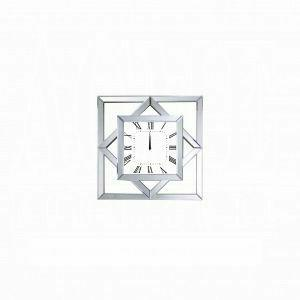 ACME Mhina Wall Clock - 97397 - Mirrored