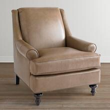Wesley Leather Accent Chair