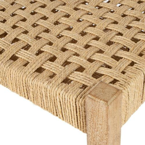 Butler Specialty Company - This understated stool is a welcome addition to virtually any space. Its legs and seat frame are sturdily crafted from mango wood solids, and it features a durable jute rope seat in a basket weave pattern. Blending modern lines with a touch of rustic ambiance, it is stylishly functional in almost any decor.