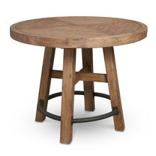 See Details - Round Bar Table Wood Top in Blonde