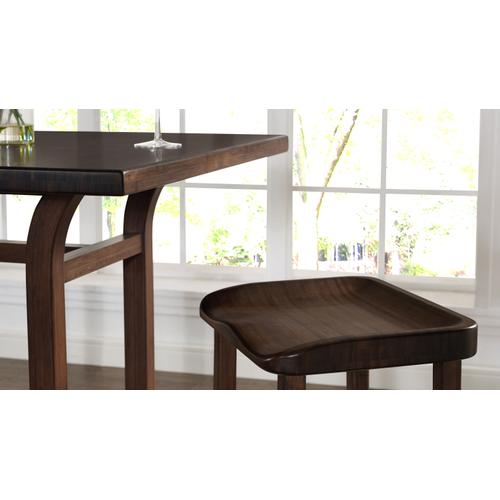 Tulip Counter Height Table, Black Walnut
