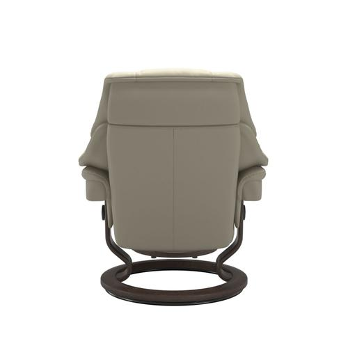 Stressless By Ekornes - Stressless® Reno (S) Classic chair with footstool
