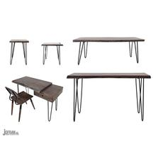Nature's Edge Coffee Table-brushed Grey
