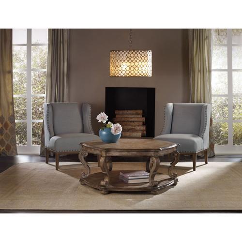 Living Room Solana Hexagonal Cocktail Table