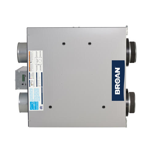 Broan® ADVANCED SERIES HIGH EFFICIENCY ENERGY RECOVERY VENTILATOR, 129 CFM AT 0.4 IN. W.G.