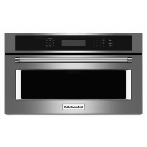 """KitchenAid30"""" Built In Microwave Oven with Convection Cooking - Stainless Steel"""