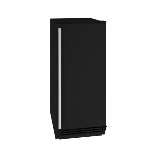 "U-Line - Hcr115 15"" Crescent Ice Maker With Black Solid Finish (115v/60 Hz Volts /60 Hz Hz)"