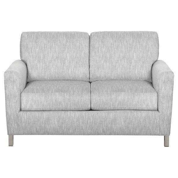 Modern Arm Loveseat