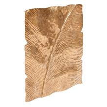 View Product - Square Leaf Wall Decor Antique Gold Medium