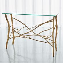 See Details - Twig Console-Gold Leaf