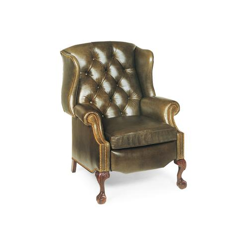 1013 STERLING TUFTED WING CHAIR RECLINER