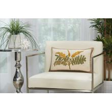 "Royal Palm Ns766 Natural 12"" X 20"" Lumbar Pillow"