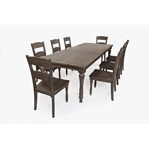 Madison County Ext Table & 8 Chairs Barnwood