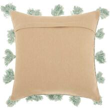 "Life Styles Dp005 Celadon 18"" X 18"" Throw Pillow"