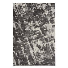 Brushstrokes Charcoal Machine Woven Rugs