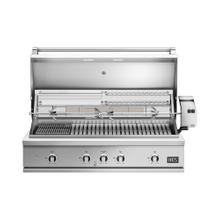 """See Details - 48"""" Grill, Rotisserie and Charcoal, Natural Gas"""
