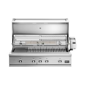 """Dcs48"""" Grill, Rotisserie and Charcoal, Lp Gas"""