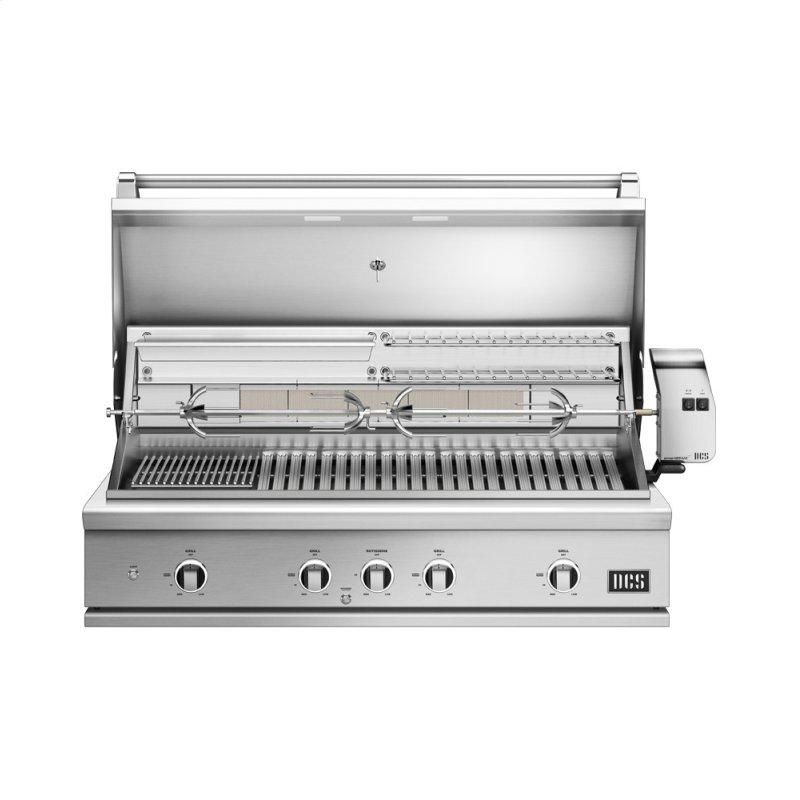 """48"""" Grill, Rotisserie and Charcoal, Natural Gas"""
