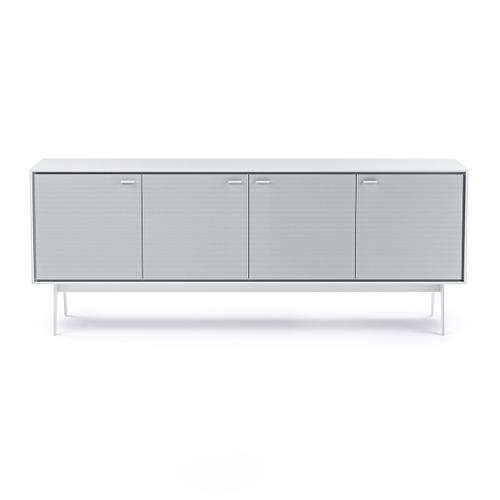7279 Media Console in Smooth Satin White