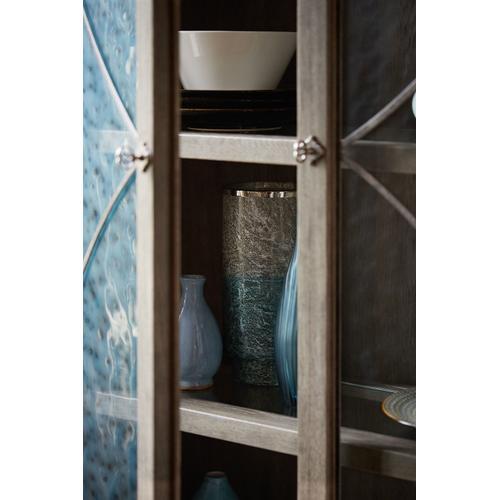 Marquesa Display Curio in Gray Cashmere (359)