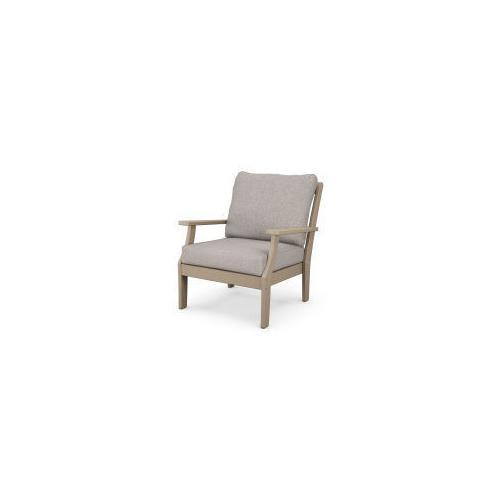 Product Image - Braxton Deep Seating Chair in Vintage Sahara / Weathered Tweed