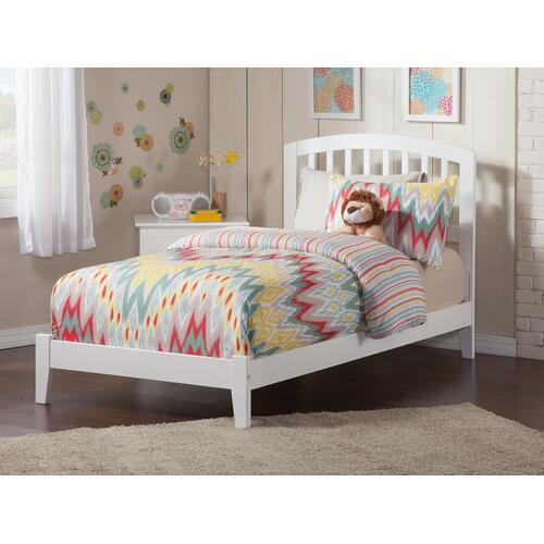 Richmond Twin Bed in White
